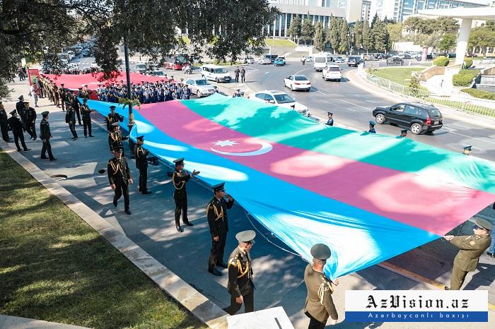 Rally held to mark 103rd anniversary of Baku
