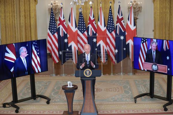 EE.UU., R.Unido y Australia plantan cara a China con ambicioso pacto de defensa