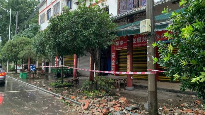 Two killed, dozens injured as quake jolts China