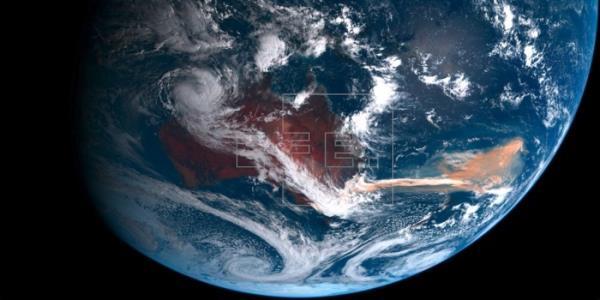 Los incendios de Australia hicieron proliferar algas en el océano Antártico