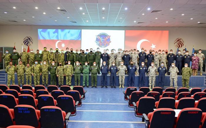 Abschlusszeremonie der gemeinsamen aserbaidschanisch-türkischen Übungen in Konya stattgefunden -   VIDEO