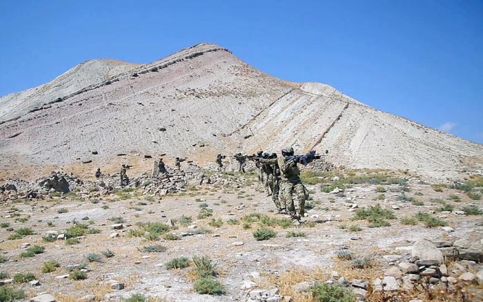 Spezialeinheiten von Aserbaidschan, Türkei und Pakistan setzen gemeinsame Übungen fort –   VIDEO