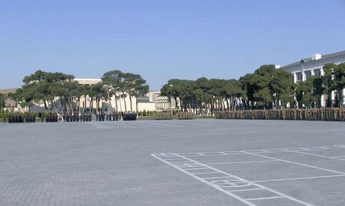 Azerbaijan's Military Academy holds event marking beginning of new training year