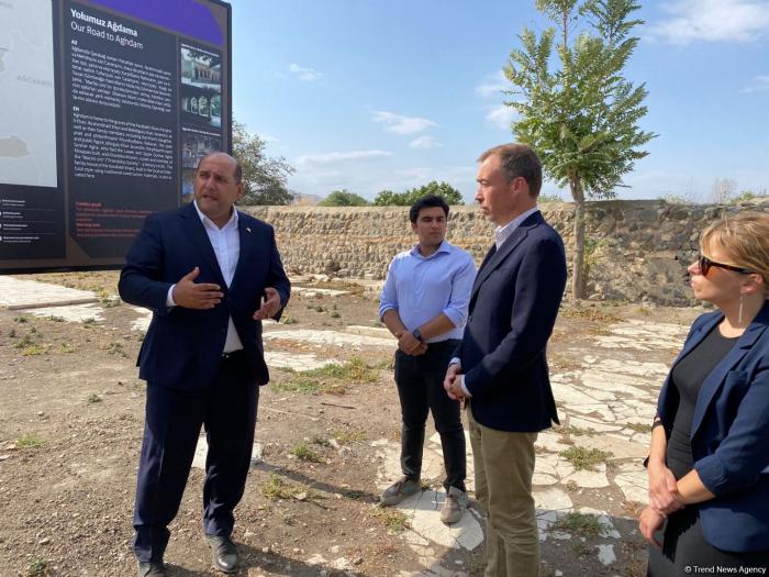 EU special representative visits Azerbaijan's Aghdam