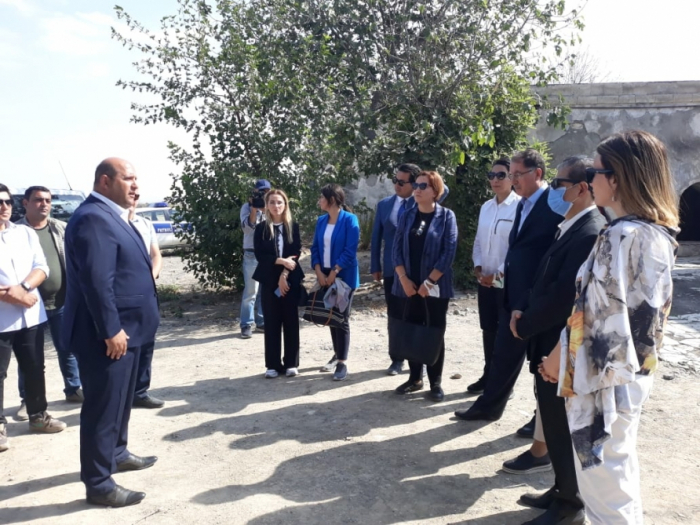 El representante especial de la UE para el Cáucaso Sur visita Aghdam