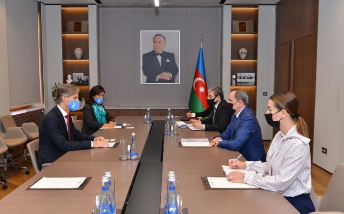 El residente-representante del PNUD completa su misión en Azerbaiyán