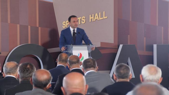 """İrakli Qaribaşvili:    """"Azərbaycan qardaş dövlətdir"""""""