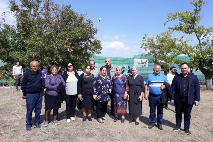 Another group of Shusha residents visit their hometown