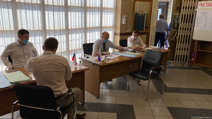 State Duma elections: Voting held at Russian Embassy in Azerbaijan