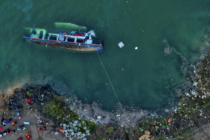 Eight killed after passenger ship capsizes in southwestern China