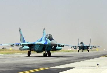 """عسكريون من القوات الجوية الأذربيجانية يشاركون في مهرجان """"تيكنوفست 2021"""""""