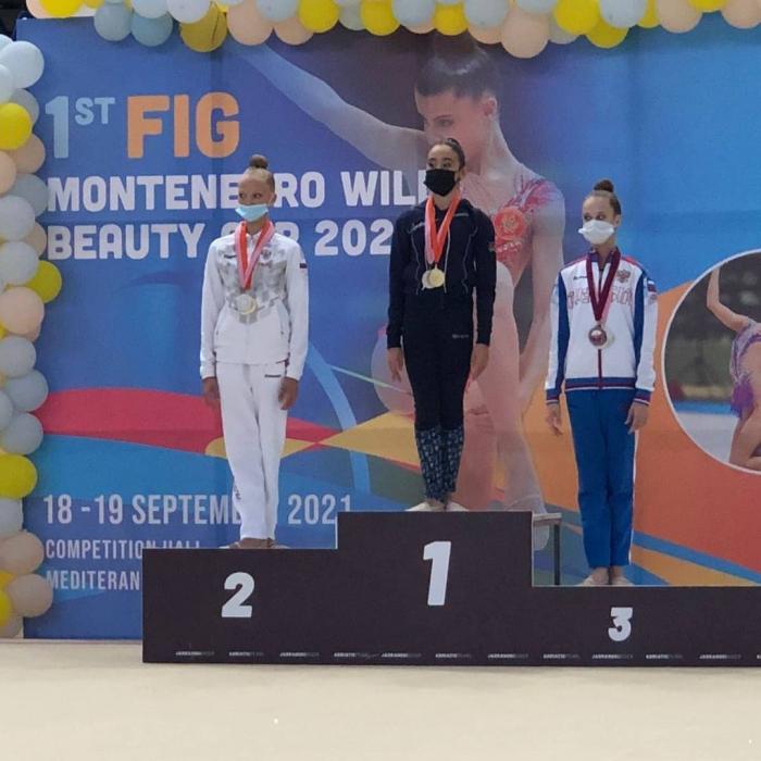 Azerbaijani gymnasts win six medals at int'l tournament in Montenegro