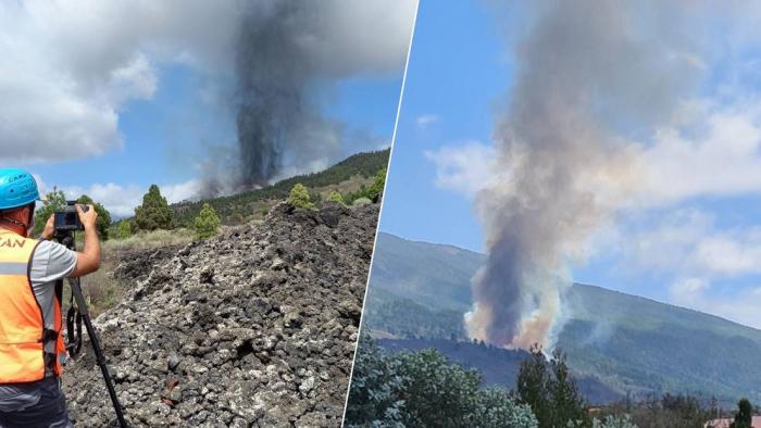 Entra en erupción un volcán en la isla española de La Palma