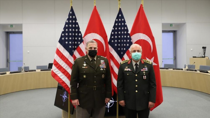 Turkish, US army chiefs discuss Afghanistan at NATO meeting