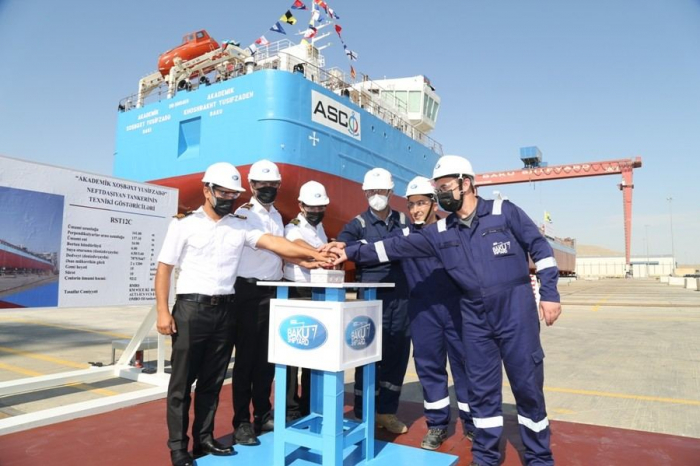 Azerbaijan commissions new tanker named after prominent academician