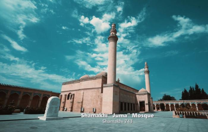 """El Ministerio de Cultura presenta en el marco del proyecto """"Conozcamos nuestra herencia islámica"""": la mezquita Juma de Shamakhi"""