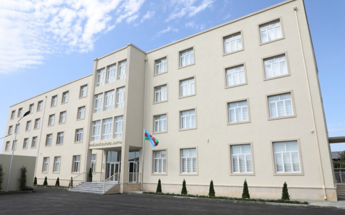 President Ilham Aliyev views conditions created at secondary school in Sabunchu district