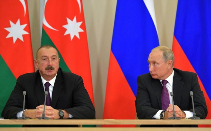 El presidente Aliyev ha enviado una carta de condolencias a Putin