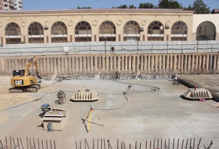 Construction of new metro station begins in Azerbaijani capital -   PHOTO