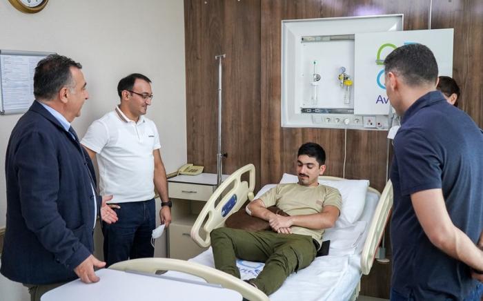 Hasta ahora, 132 veteranos han sido enviados a Turquía para recibir tratamiento