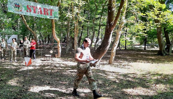 Azerbaijani army conducts orienteering exercises