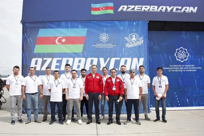 Azerbaijani startups presented at the Teknofest Festival in Istanbul
