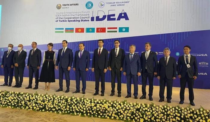 La delegación de Azerbaiyán participó en el 1er Foro de Jóvenes Emprendedores