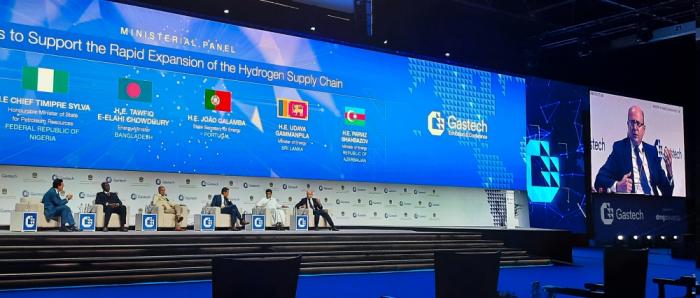 """Ministro de Energía de Azerbaiyán asiste a la exposición y conferencia """"Gastech 2021"""""""