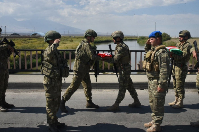 Turkish servicemen arrive in Azerbaijan for joint exercises –   PHOTO