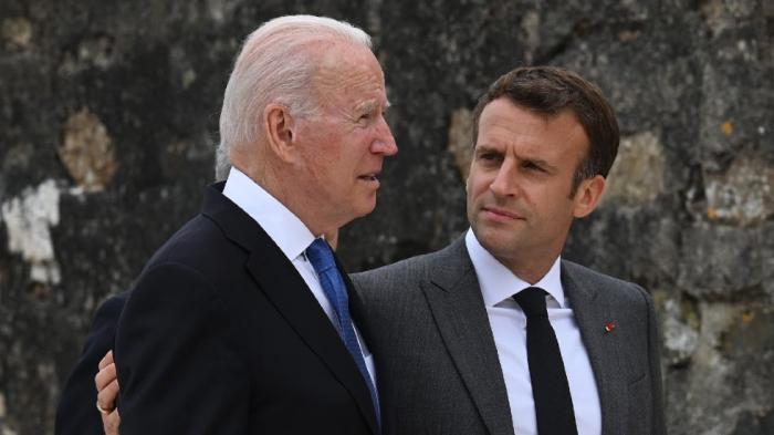 Biden and Macron agree to meet next month