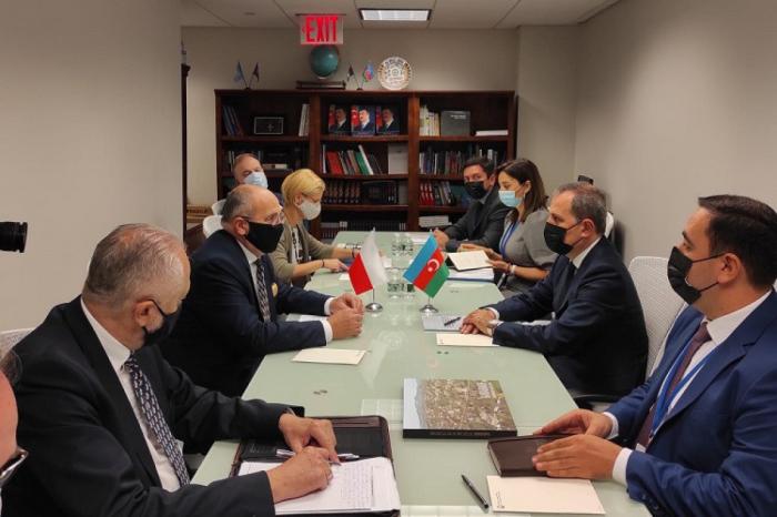 Se celebra reunión entre los Ministros de Relaciones Exteriores de Azerbaiyán y Polonia