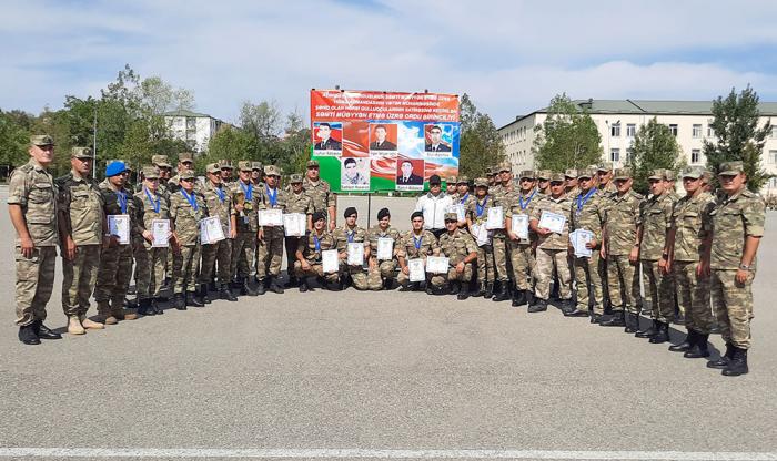 Azerbaijani MoD: Orienteering competition among servicemen wraps up