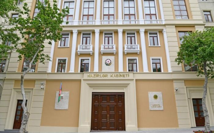 مجلس الوزراء يقرر تخفيف نظام الحجر الصحي في أذربيجان