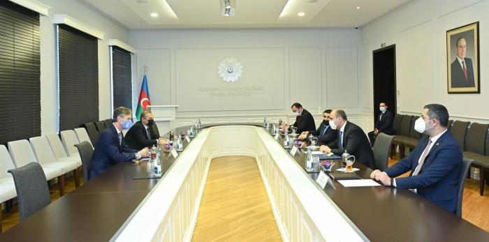 Rencontre entre le ministre azerbaïdjanais de l'Education et le représentant résident du PNUD en Azerbaïdjan
