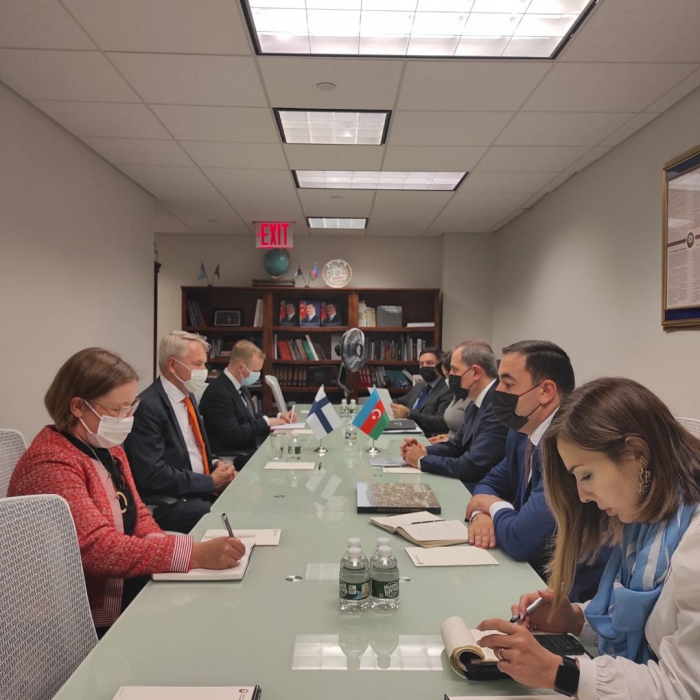 Azerbaijani and Finnish FMs discuss issues of bilateral cooperation