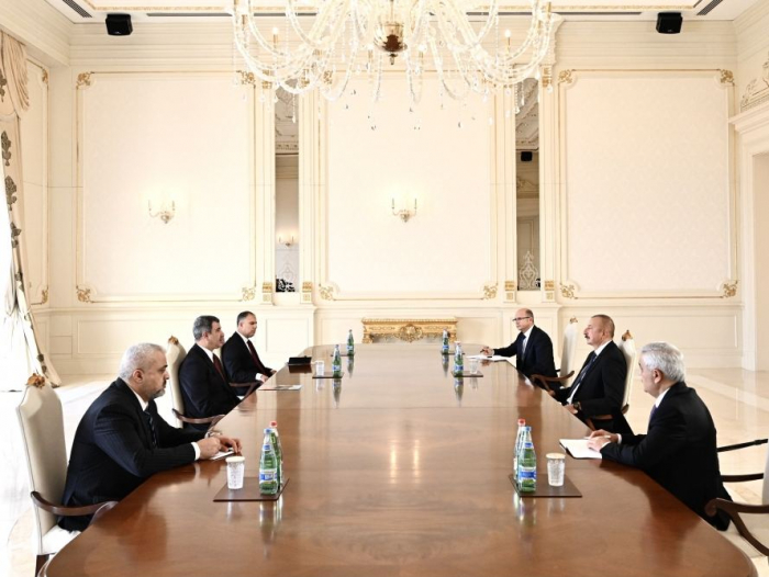 President Aliyev receives Iraqi oil minister - UPDATED