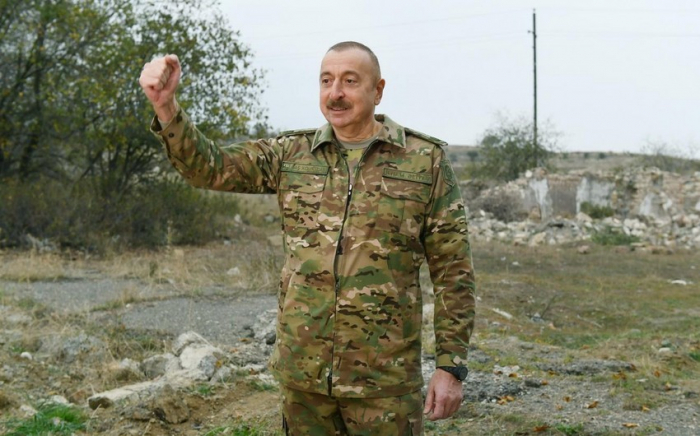 President Ilham Aliyev gives interview to Russian National Defense magazine - UPDATED
