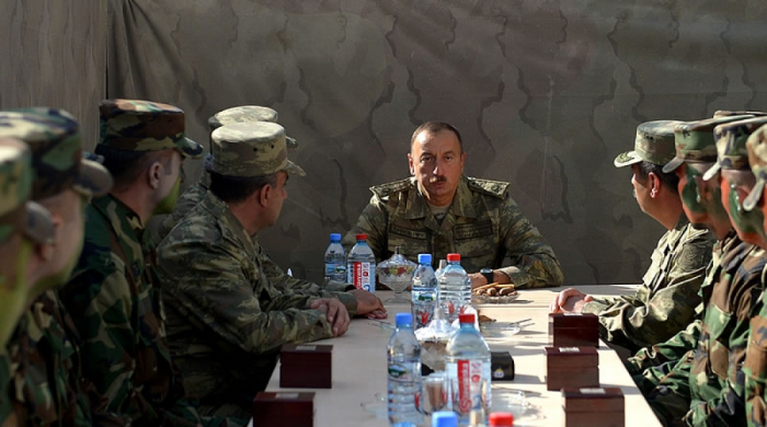 """Ilham Aliyev  :""""Solo estuvimos avanzando durante los 44 días"""""""