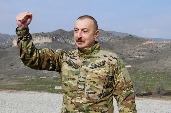 Ilham Aliyev speaks about details of