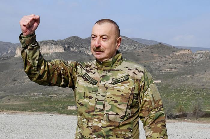"""Presidente de Azerbaiyán  : """"Nunca cedimos a las provocaciones"""""""