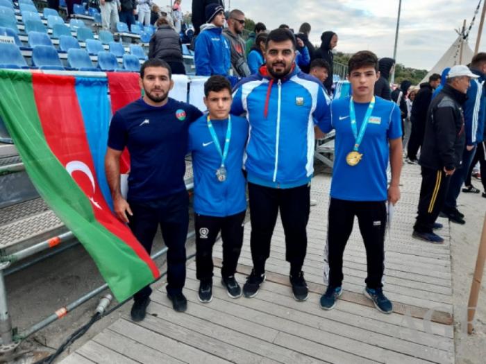 Azerbaijani beach wrestler crowned world champion
