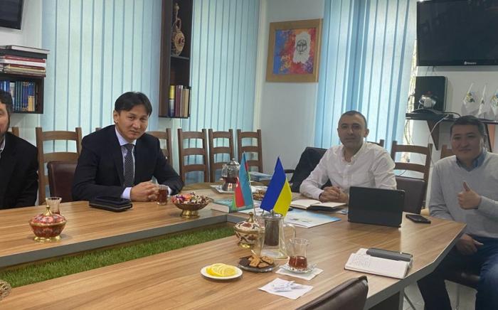 Ein Treffen der aserbaidschanischen und kirgisischen Diaspora fand statt