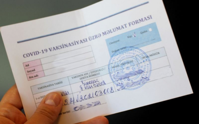 COVID-19 passports in Azerbaijan to be required for visiting cities, regions
