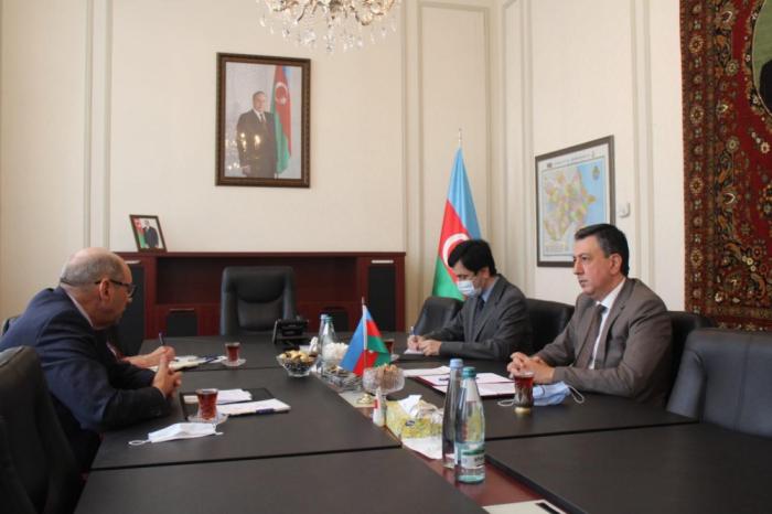 سفير أذربيجان يلتقي برئيس بعثة مراقبة منظمة الامن والتعاون في اوروبا في جورجيا