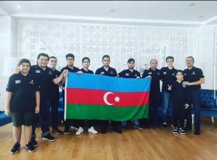Azerbaijani chess team wins bronze medal of European Club Cup