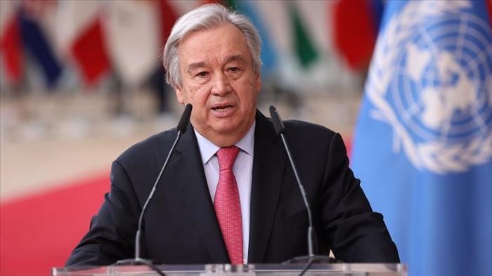 UN Sec-Gen calls for rapid decarbonization of energy systems