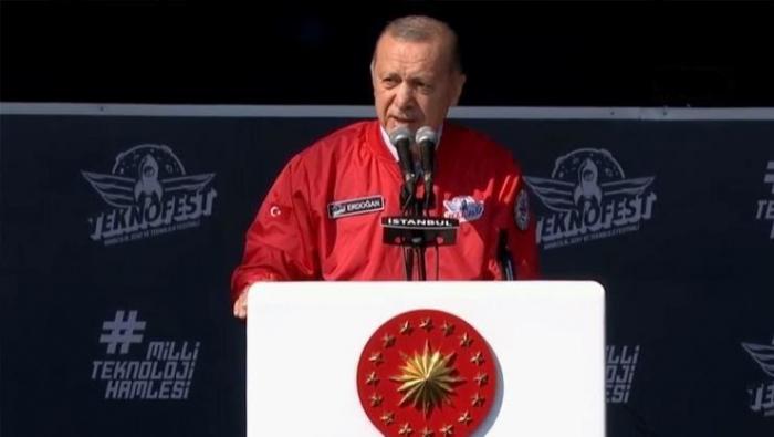 TEKNOFEST festival to be organized in friendly, fraternal Azerbaijan - Turkish President