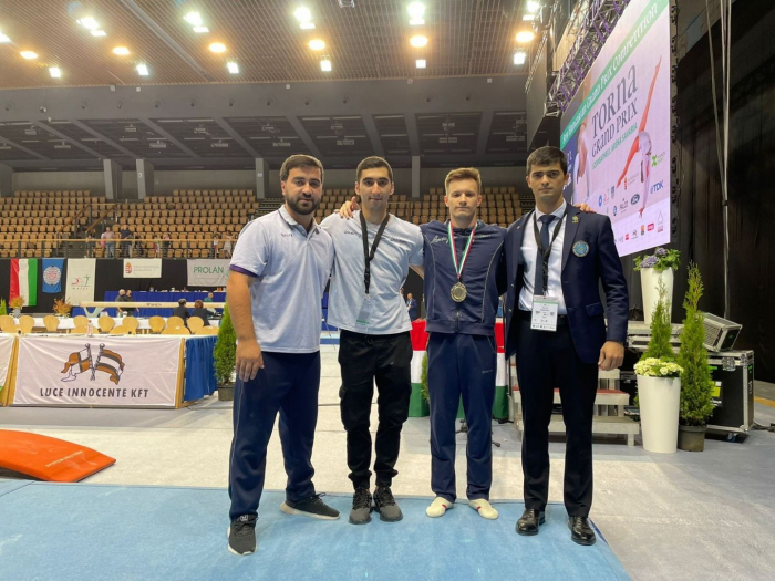 Azerbaijani gymnast wins gold medal at Grand Prix in Hungary