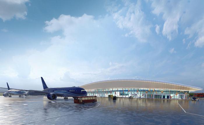 Der erste kommerzielle Testflug zum internationalen Flughafen in Karabach fand statt