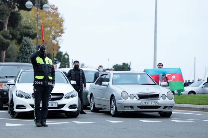 Azerbaijan restricts traffic movement on some streets on Remembrance Day
